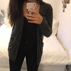 Forever 21 grey cardigan, size M